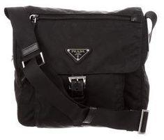 5b94722e85 Prada Vela Nylon Messenger Bag Prada Messenger Bag, Prada Handbags,  Handbags On Sale,