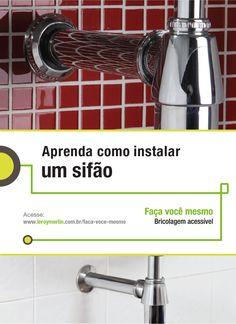 Precisando instalar um novo sifão em casa? Siga o passo a passo da nossa Ficha de Bricolagem. :) http://leroy.co/1arBH7p