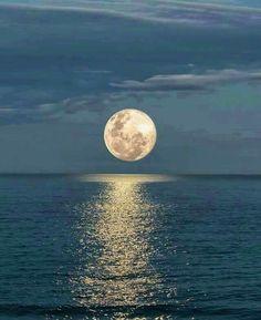 La super luna desde Fajardo Puerto Rico