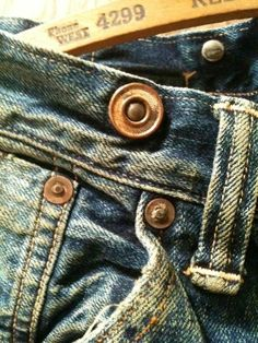 Old Things, Vintage Denim, Detail, Tags, Button, Photography, Accessories, Fashion, Buttons