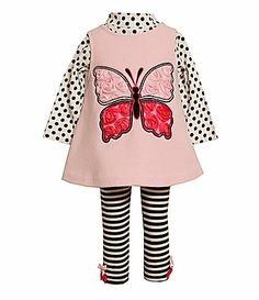 6d7a15dc38a8 Bonnie Jean Toddler Butterfly Fleece Jumper and Leggings Set #Dillards  Bonnie Jean, Little Princess