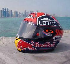 Il nuovo casco di Marc Marquez http://www.italiaonroad.it/2015/03/19/il-nuovo-casco-di-marc-marquez/