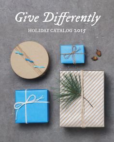 New Holiday Catalog from The Grommet. Discover unique gifts for your whole list with this holiday gift guide curated by The Grommet. #GiveDifferently