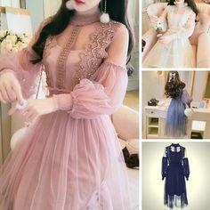 3ca078ee7 6 Colors Sweet Fairy Tulle Dress SP1811867