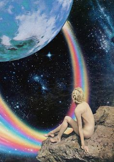 Intergalactic Photomontages to Delight and Intrigue