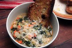 Ribollita (Italian Cabbage and Bean Soup)