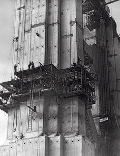 Golden Gate Bridge builders ate special meals to prevent dizziness