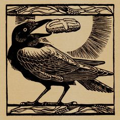 """St Benedict's Raven by lonelybadger.  """"Drink the poison yourself"""""""