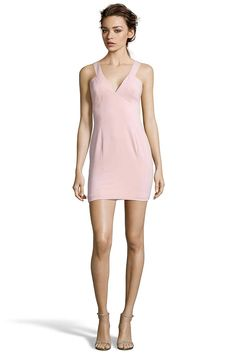 NARINO Back Cut Out Mini Dress from Jay Godfrey. Stretch Crepe   Open Back Hook and Eye Closure. $288