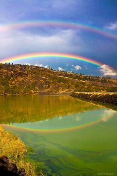 beautiful rainbow photography