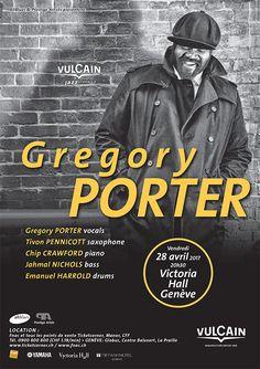 JAZZ CLASSICS: GREGORY PORTER AT VICTORIAL HALL, GENEVA, 28 April 2017