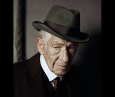 Here's Sir Ian McKellen as a 93-year-old Sherlock Holmes - The Independent / In MR. HOLMES, a film based on Mitch Cullin's book, A SLIGHT TRICK OF THE MIND.