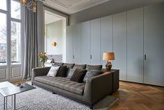 Met de makeover van een stadswoning in Amsterdam kreeg BNLA architecten de kans om in een monumentaal pand eigentijds interieur te ontwerpen