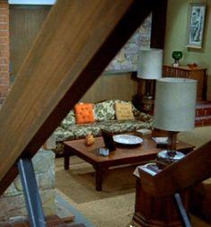 """The Brady Bunch"" living room Living Tv, Living Room, Modern Living, The Brady Bunch, Vintage House Plans, Home Tv, Old Tv Shows, Classic Tv, Midcentury Modern"