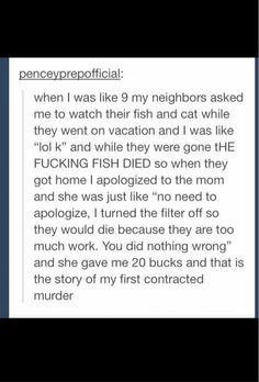 Casual murder
