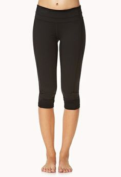 Forever 21 Colorblocked Workout Capris $18