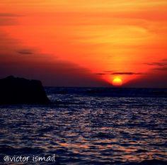 Sunrise in karimun jawa, Indonesia