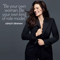 """Ashley Graham has paved the way for a new wave of models taking over the fashion industry. The Glamour Woman of the Year was the first size-16 model to land the cover of Sports Illustrated Swimsuit back in February, bringing size acceptance into mainstream culture. Her deepest wish for young girls today? """"I hope they look in the mirror and say, 'I am beautiful.' When you do that, it's a whole other ball game."""" #GlamourWOTY #shattertheceiling (: Miguel Reveriego)"""