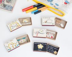 Pick any 5 Matchbox-cards/ Any Occasion Cards/Unique Anniversary Gifts/Gift for Him/Gift for Her/Birthday/Valentine/Love/Mother/Father/SE006