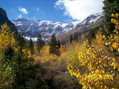Alpine_Loop_2007_006 The east side of Mount Timpanogos in Autumn 2007 by David Jolley.