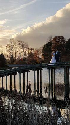 Baywood Greens Winter wedding bridge