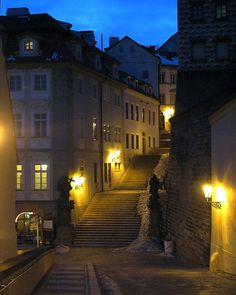 Empty Prague: Night Falls