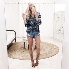 New arrivals! From @spell_byronbay and restocked one teaspoon cutoffs!