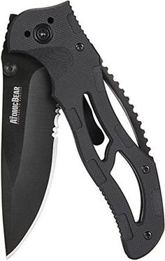 SWAT Tactical Knife - Badass Folding Pocket Knife with Half Serrated Stainless Steel Blade and G10 Handle Perfect for Rescue, Self Defense, Hunting, Survival, Fishing, Hiking, Camping, Climbing   https://huntinggearsuperstore.com/product/swat-tactical-knife-badass-folding-pocket-knife-with-half-serrated-stainless-steel-blade-and-g10-handle-perfect-for-rescue-self-defense-hunting-survival-fishing-hiking-camping-climbing/