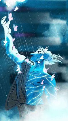LINE Webtoon; Manga Watercolor, Manhwa, Greek Mythology Art, Greek Gods And Goddesses, Lore Olympus, Hades And Persephone, Cute Wallpaper Backgrounds, Wallpapers, Easy Drawings