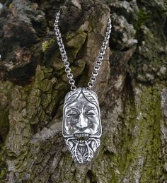 I got a couple of new pendants from Wulflund Jewelry that I wanted to post here because I think they do beautiful work. For myself, I got the Green Man (above), and I got the bird pendant for Anna ...