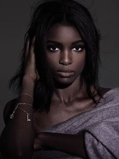 Nine Models of Color Show Us a Vast Spectrum of American Beauty - PAPERMAG