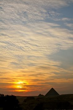 Skylines of the world - Great Pyramid of Giza - Egypt
