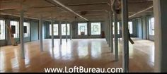 6500-13,000 sf loft style office space for lease canal lachine