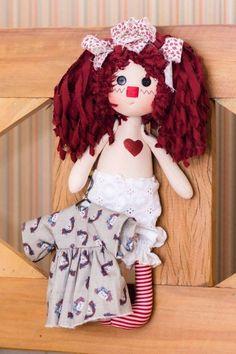 Pequena Annie trocando de roupa (kit completo)