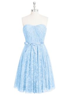 This dress is convertible!  Azazie Reyna
