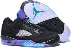 timeless design 3ac8d 43ed7 Air Jordan 5 Low Black Grape Shoes Jordan V, Air Jordan 5 Retro, Nike