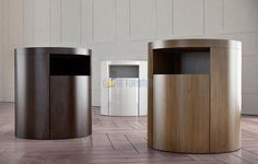 Mulholland Walnut Nightstand | SoBe Furniture