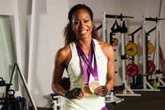 Sanya Richards-Ross, America's 400-meter Sweetheart - Austin Fit - October 2014
