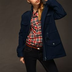 Manches longues manteau bleu cordon collier de support