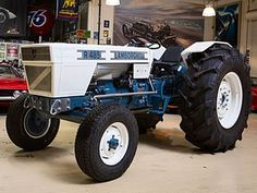 The Original. Yes, it's true, Lamborghini made tractors initially, and still continue to do so today