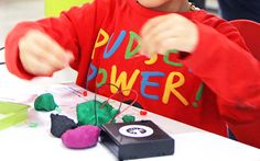 Electro Dough teaches kids about circuits and is also LOTS of fun. #futureinventors #makeplayinvent