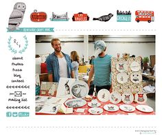Renegade Craft Fair Website - Wonderful illustrations