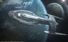 The Ascension class is a 1400 m Federation Starfleet starship in service during the early 25th century. It had a crew capacity of 2,000 beings and was built with a mix of Federation and Romulan tec...