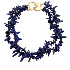 Nautical Fashion, Nautical Style, Kenneth Jay Lane, Gold Plated Necklace, Pantone Color, Color Trends, Costume Jewelry, Navy Blue, Shoe Bag