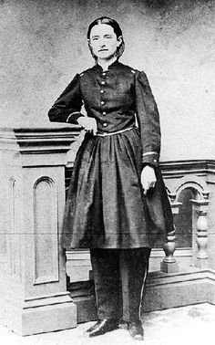 Mary Walker, a woman who sought equality for women. She was a surgeon, and she wore pants– when it was illegal to do so. She was proud of her arrest for this; she wanted the right for women to wear pants. She won the congressional medal of Honor when she never even had the right to vote!