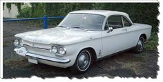 1964 Corvair/ I think the same year as my Corvair.  My first car.  What a fun little thing to drive around in!