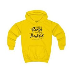 XS S M L XL Width, in Length, in Sleeve length, in Modern and stylish unisex hoodie for youth. Soft cotton and quality print make this hoodie an irreplaceable everyday item. Cute Outfits For Kids, Cute Kids, Project Alpha, Yellow Clothes, Custom Cups, Everyday Items, Unisex, Happy Colors, Hand Warmers