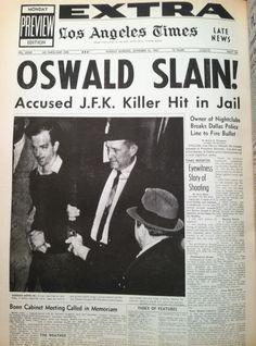 Mobster Jack Ruby kills Oswald 11-25-1963 #history #jfk