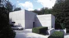 Marc Corbiau - Bureau d'Architecture Uccle Belgium , minimalism , concrete
