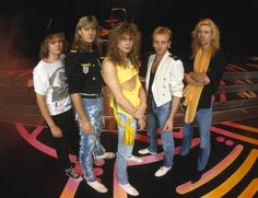 Def Leppard. 1988-89 was epic. and one of my top five metal bands. Hysteria was the album and the mood of the late 80's:)